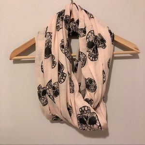 Charlotte Russe Pink Infinity Scarf